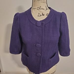 Jack BB Dakota cropped jacket purple